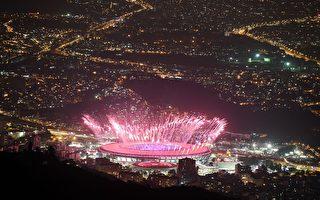 组图:里约奥运开幕式烟火璀璨