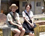 導演趙德胤找來《再見瓦城》主角柯震東(左起)、吳可熙演出純樸的學生戀愛。(金馬影展公關提供)