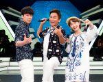 《综艺大热门》主持人吴宗宪(中)、汉典(左)、LULU。(三立提供)
