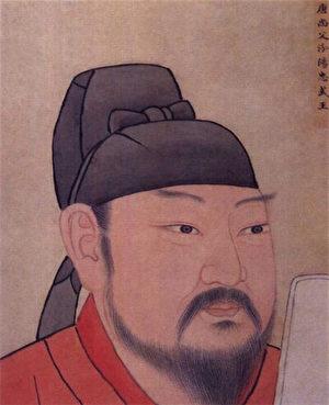 郭子儀像,出自清南薰殿畫像。(公有領域)