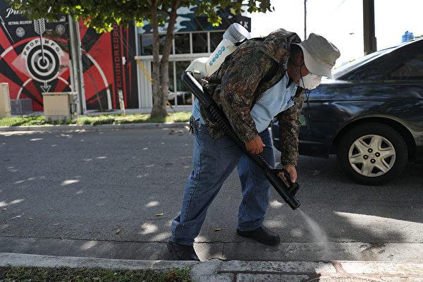 邁阿密北部爆寨卡本土疫情 CDC發旅遊警告
