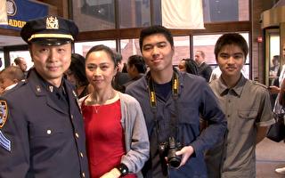 华人警察在职十年 荣升巡官