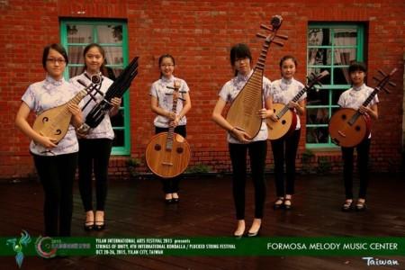 注重優異合奏及獨奏能力的「當代樂坊彈撥樂團」。(蘭陽博物館提供)