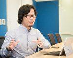 對於台灣發展物聯網,台灣微軟營運暨行銷事業群總經理磯貝直之表示,如何應用科技與每個人連結,這是過去自己一直在思考的事情,如今,真的做到了。(陳柏州 /大紀元)