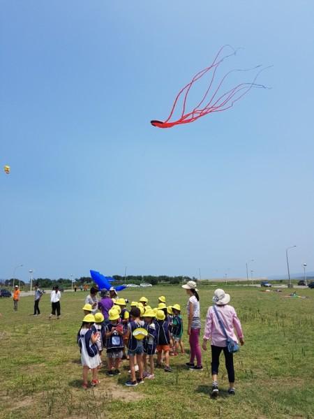 新竹風箏節今年以「海洋」做為主題。(林寶雲/大紀元)