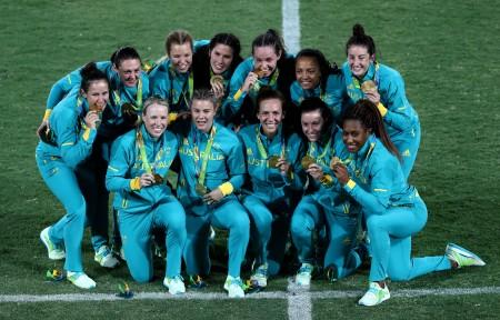 澳洲獲女子七人制橄欖球第一枚金牌