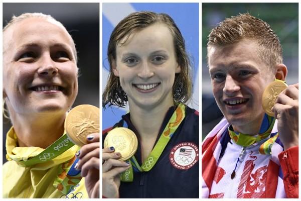 里約奧運第二天 泳賽打破3項世界紀錄