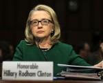 1月23日,希拉里在參院外交關係委員會接受聽證,有關之前美國駐班加西領館被炸事件。(Alex Wong/Getty Images)