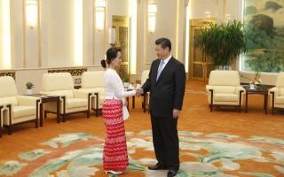 翁山蘇姬訪華將討論爭議性密松大壩工程