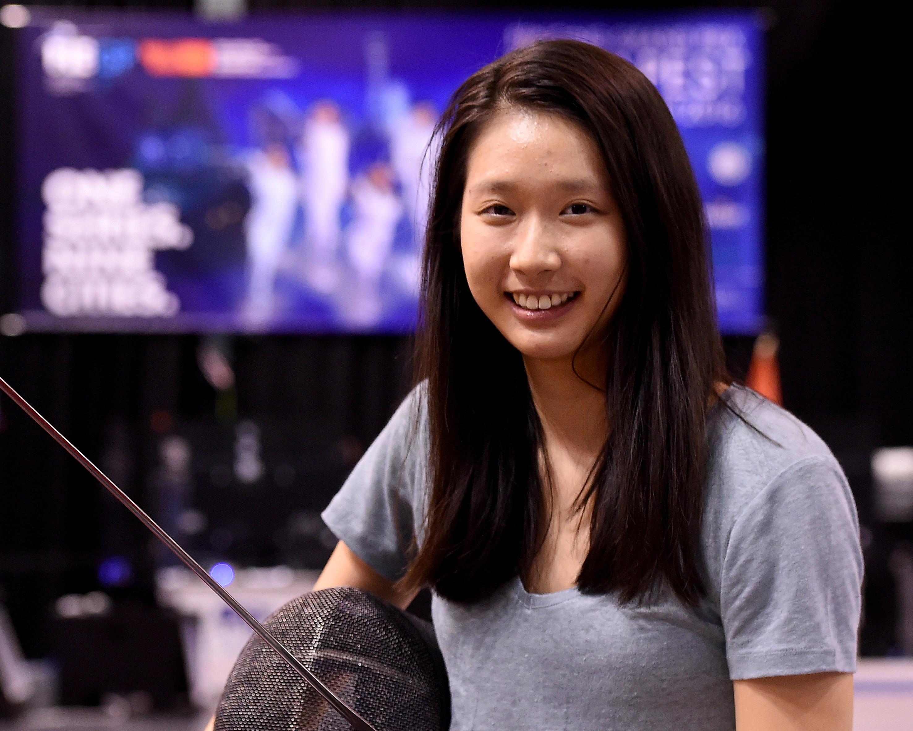 江旻憓為香港劍擊隊創歷史