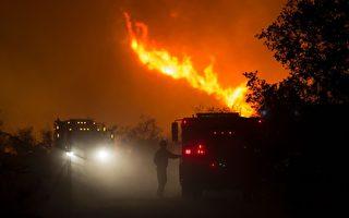 聖芭芭拉縣爆發雷伊山火 暫不威脅住家
