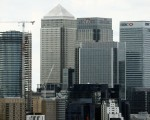 """The Canary Wharf finance district of London, encompasing the offices of HSBC, Citigroup, JPMorgan Chase, and other global banking corporations, is pitcured from Greenwich park in south-east London on June 26, 2016.  British business minister Sajid Javid on Sunday urged companies not to panic following Britain's vote to leave the European Union (EU) despite dire warnings of the economic consequences of the Brexit vote. """"Our economic fundamentals remain strong. They're strong enough to weather any short-term market volatility,"""" he said, after Thursday's vote plunged global financial markets and the value of the pound. / AFP / ODD ANDERSEN        (Photo credit should read ODD ANDERSEN/AFP/Getty Images)"""