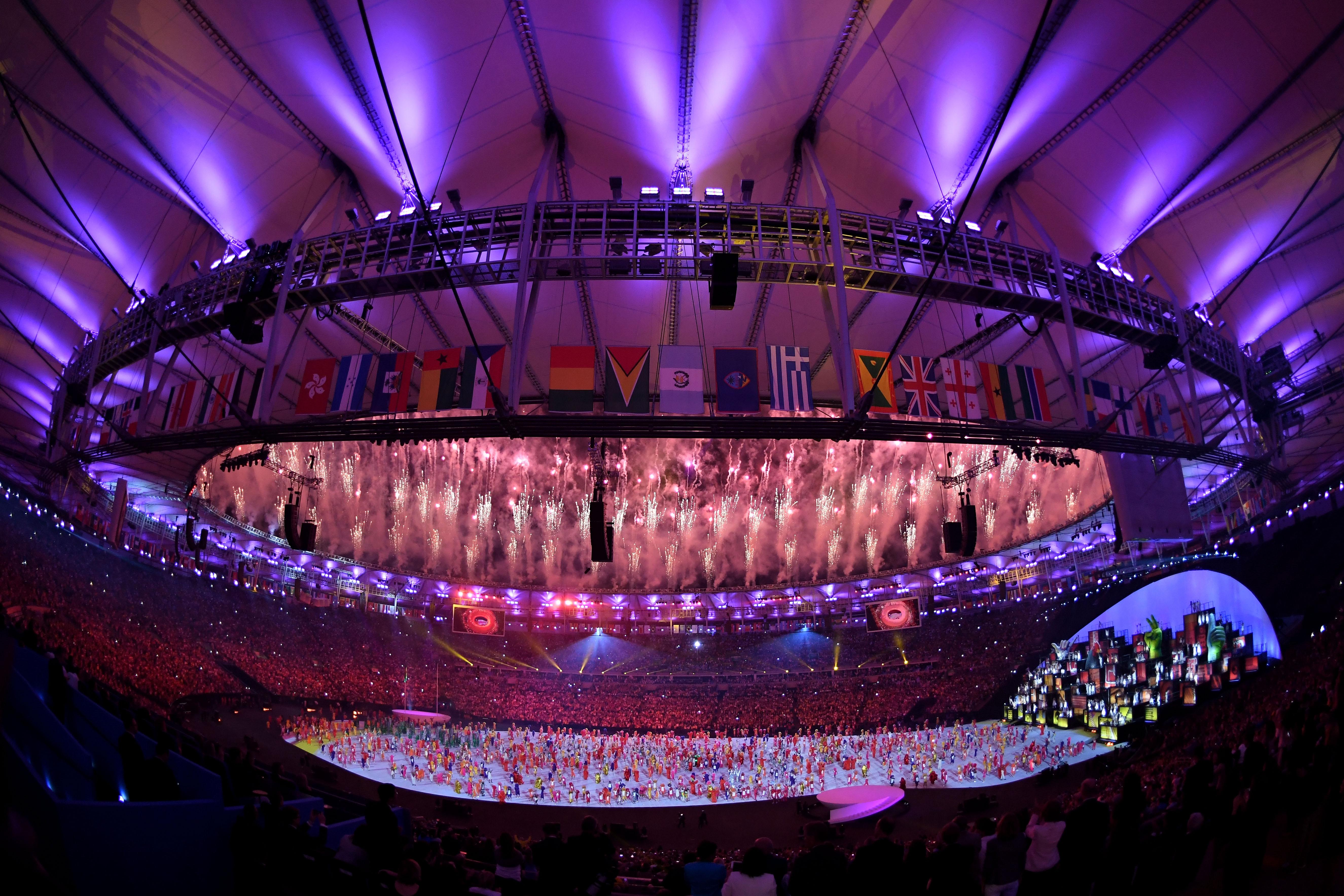 里約奧運正式開幕