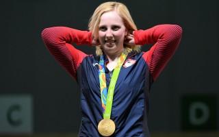 美19歲射擊女將摘下里約奧運首枚金牌