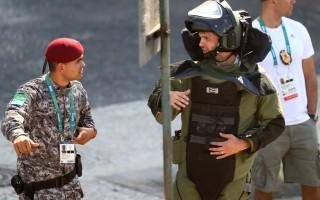 里约奥运首日惊传爆炸 子弹射中媒体中心