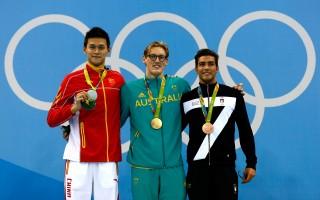 男子400米自由泳 孙扬些微差距卫冕失败