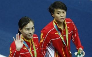 里約奧運雙人3米板 吳敏霞獲四連冠
