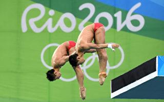 男子雙人十米跳台 中國選手陳艾森與林躍奪冠