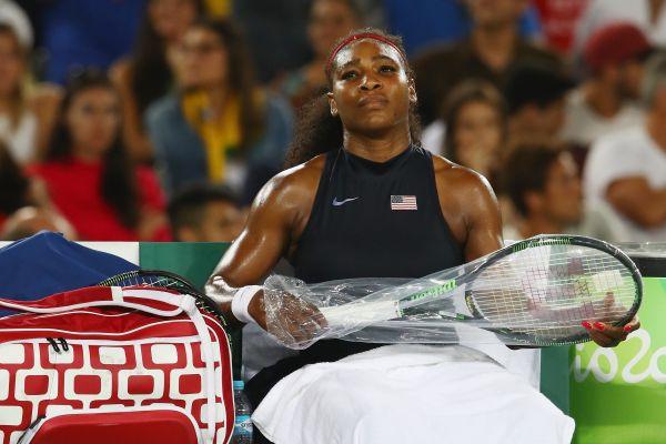 奥运网球晋级八强失利 小威廉丝意外落败