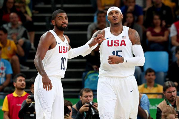 奧運男籃 美國夢幻隊只贏3分 驚險4連勝