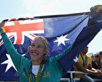 里约奥运赛艇女子单人双桨决赛 澳洲夺金
