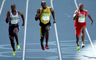 """奥运男子100米 """"闪电""""博尔特预赛拿第1"""