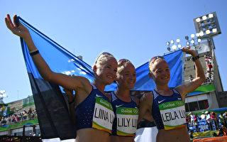 3胞胎姊妹馬拉松同場競技 締造奧運歷史