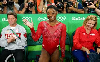 奥运体操 美超级新星拜尔斯摘第3金