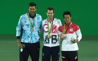 穆雷创奥运纪录卫冕男单金牌 锦织圭夺铜