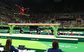 平衡木失手 拜尔斯奥运女子体操5金梦碎