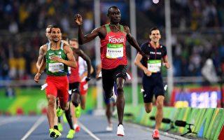 奧運田徑:魯迪沙衛冕成功 米勒爆冷奪金