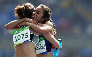 最美奧運精神 2女子長跑選手感動全球觀眾