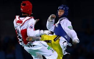 奥运跆拳道男58公斤级 中国选手赵帅夺金
