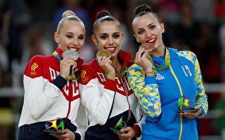 俄羅斯連5屆 韻律體操女子個人賽鍍金