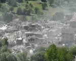 義大利6.2級地震,數十個村莊被摧毀。 (Giuseppe Bellini/Getty Images)