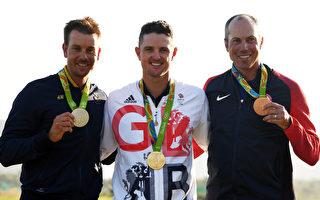 英国人罗斯赢112年来首枚奥运高尔夫金牌