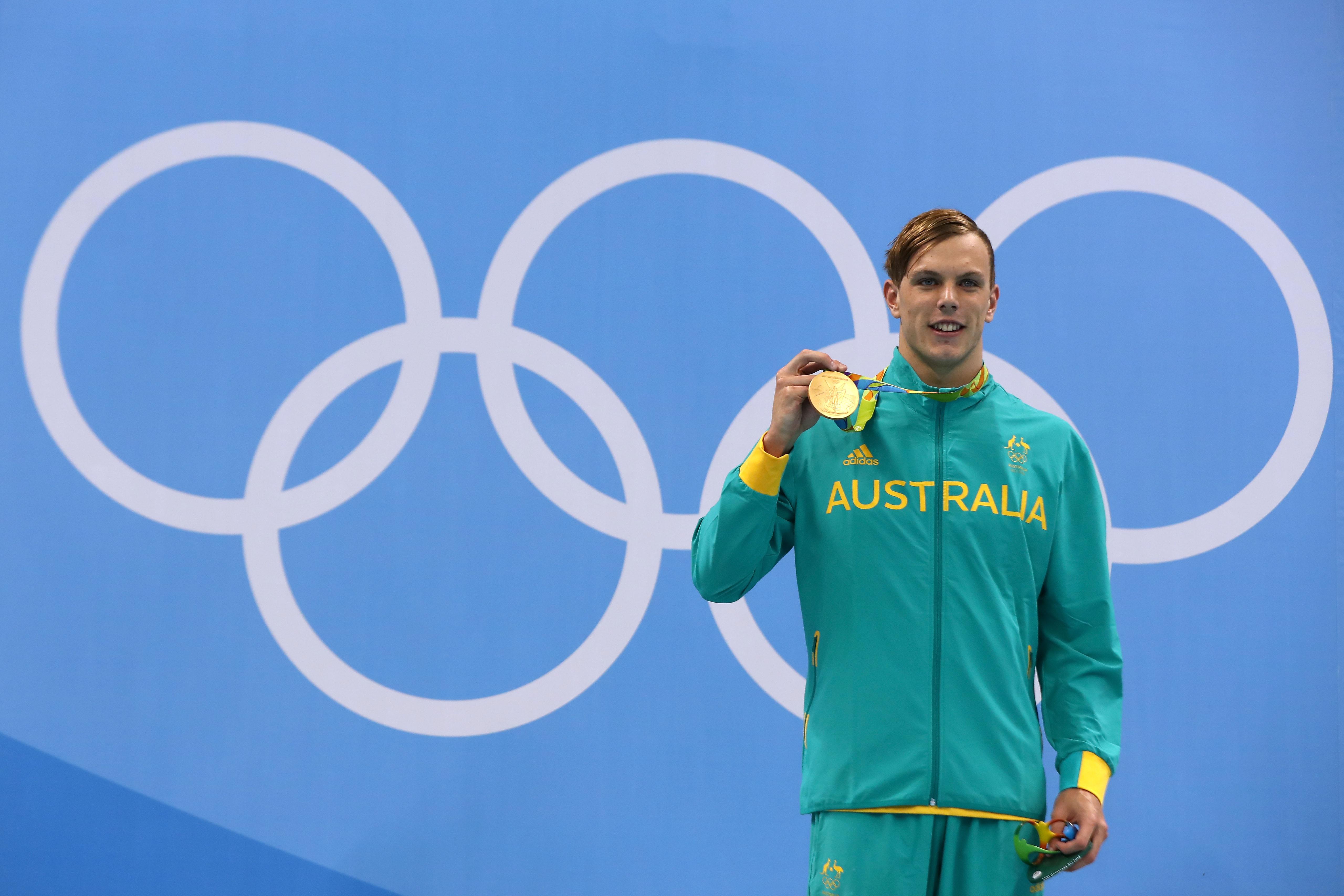澳洲18歲泳將爆冷奪男子100米自由泳金牌