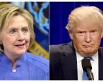 本周进行的盖洛普民调显示,只有32%的美国人会以这个方式来形容希拉里,而这么形容川普的美国人占36%。(AFP)