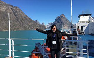 纽约华裔女孩北极探险归来 受益良多