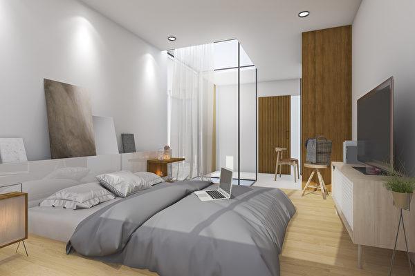 把大空间纳入小卧室