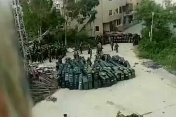 烏坎被秋後算帳 逾千警封村抓人爆流血衝突