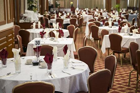 """""""丰林餐厅""""拥有新泽西最大的宴会厅。(Samira Bouaou/大纪元)"""
