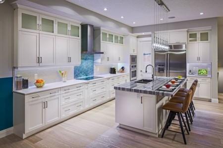 宽敞明亮的厨房(Kinniburgh提供)。