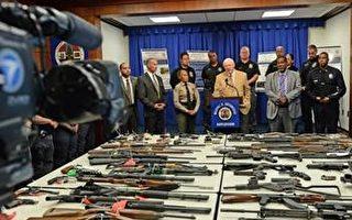 緩刑犯安管 洛縣警收繳75枝槍