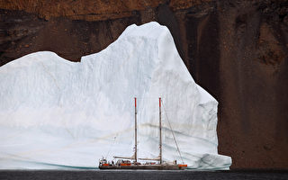 格陵兰融冰比预估多 达5万座帝国大厦重