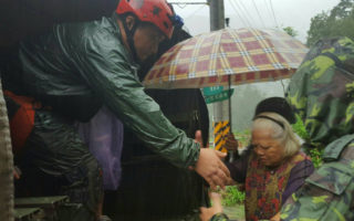颱風威脅  尖石五峰山區預先撤離