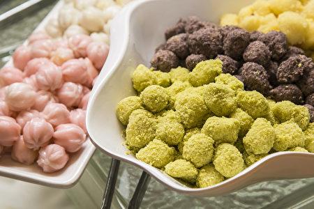 """""""丰林餐厅""""独有的自制甜点。(Samira Bouaou/大纪元)"""