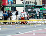 17日晚間美國紐約市發生爆炸29人受傷,國土安全和恐怖威脅再度成為總統大選的熱議話題,如果選前發生恐怖襲擊事件,很有可能成為衝擊大選的「十月驚奇」。(Drew Angerer/Getty Images)