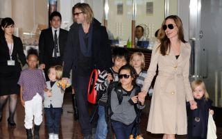 好萊塢令人稱羨的明星夫妻檔安吉麗娜.朱莉(Angelina Jolie)與布拉德.皮特(Brad Pitt)驚傳婚變。(TORU YAMANAKA/AFP/Getty Images)