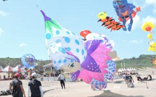 跟著風去旅行  繽紛石門風箏炫麗